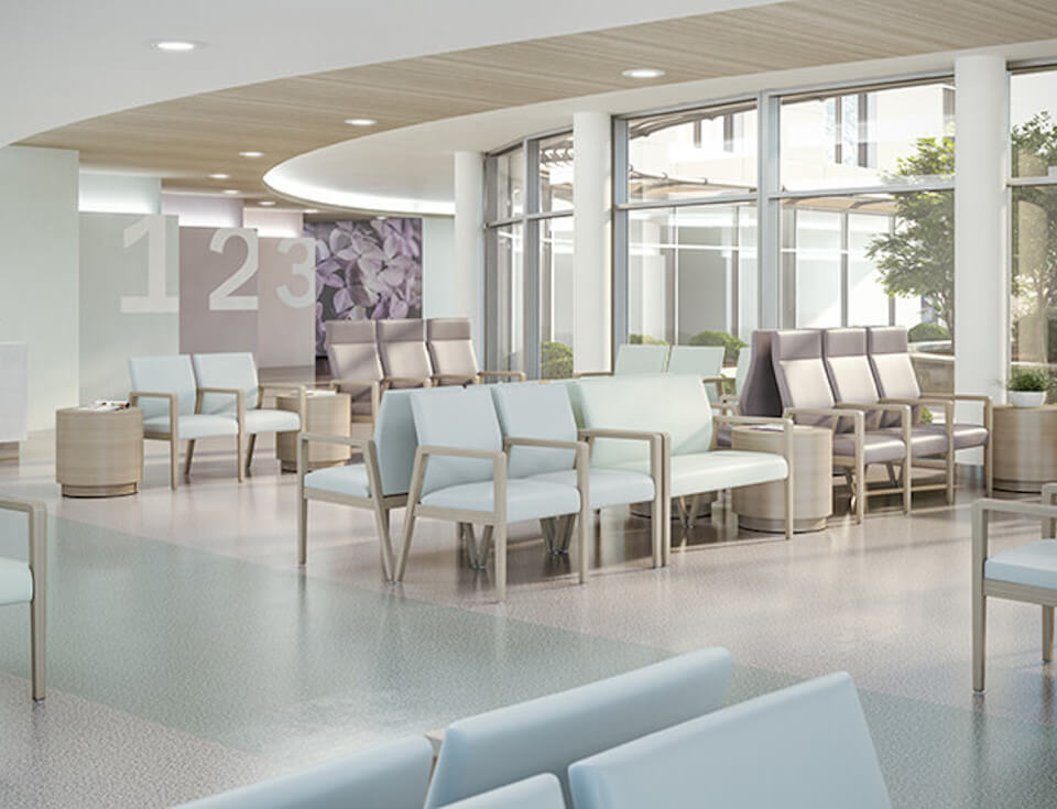 DCL design sustainable medical healthcare facilities
