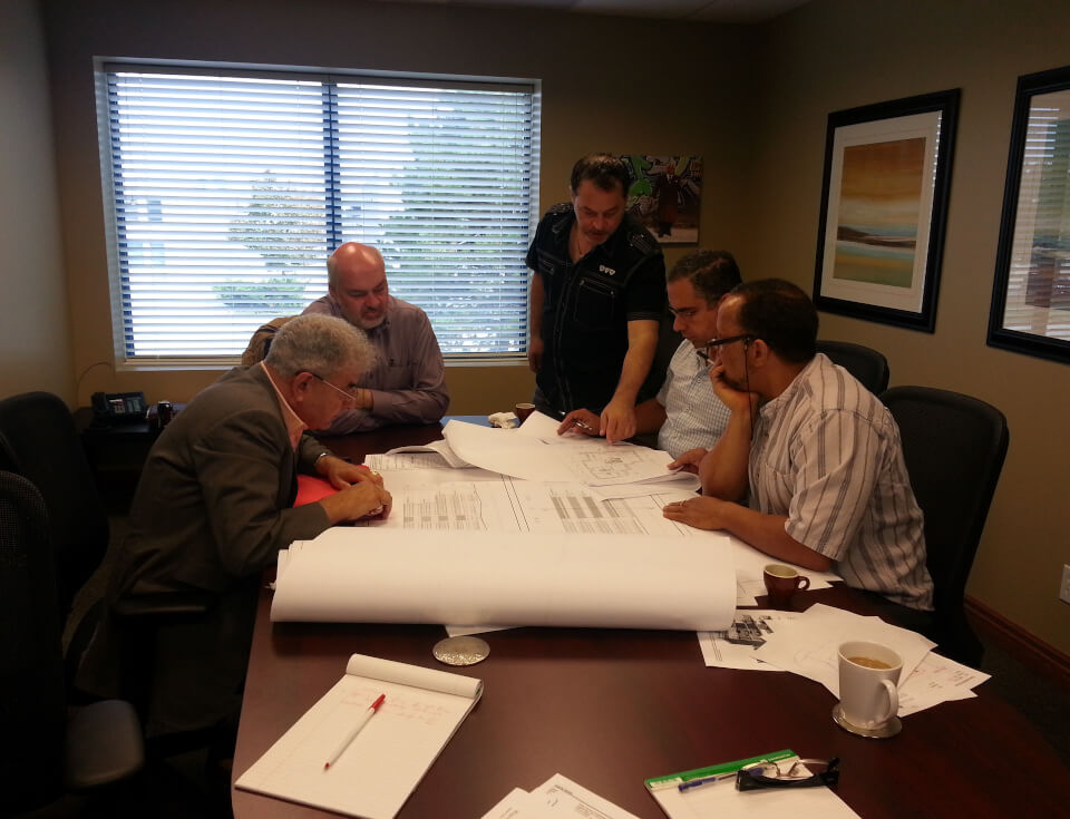 Frank Deluca, DCL team planning, engineering sustainable medical healthcare facilities